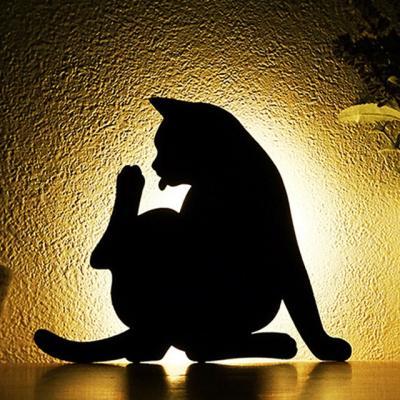 PH 거실인테리어 LED 고양이 무드등 센서등