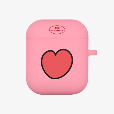 heart pattern 에어팟 케이스 [pink]