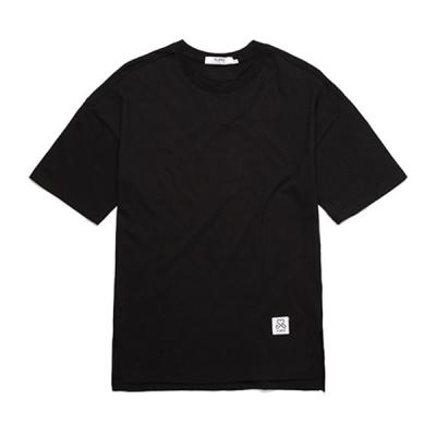 BASIC OVER FIT T-SHIRTS (BLACK)  무지티