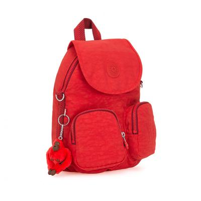 키플링 FIREFLY UP Small backpack Active Red