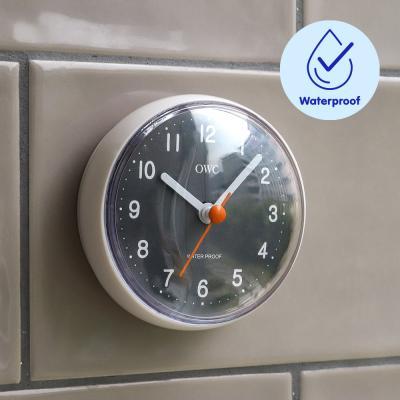 오리엔트 OTM1634WPG 욕실 흡착 무소음 방수시계