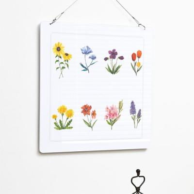 np505-행잉액자_다양한꽃그림(사각중형)