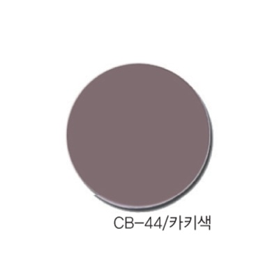 [현진아트] CB단면칼라우드락 5T 6X9 CB-44 카키색 [장/1]  114473