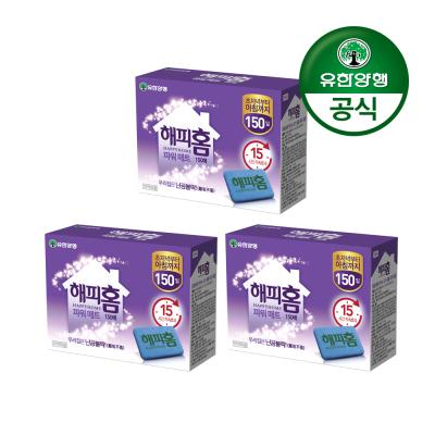 [유한양행]해피홈 파워매트 리필 150매 3개