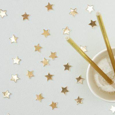골드 별모양 테이블 컨페티 Gold Star Confetti
