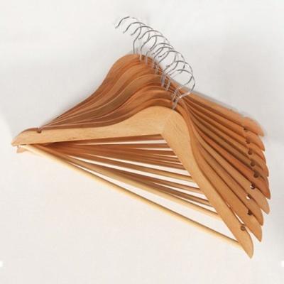 원목 나무옷걸이 원목옷걸이 고급 옷걸이 / 10세트