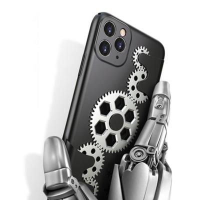 특이한 아이폰XS 아이폰X 회전 톱니바퀴 실리콘케이스