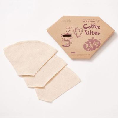 [예고은삼베] 천연삼베 커피필터 3개입