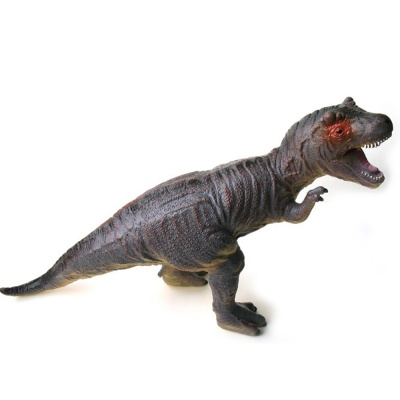 소프트 공룡 (대) 티라노 사우루스 진회색 모형