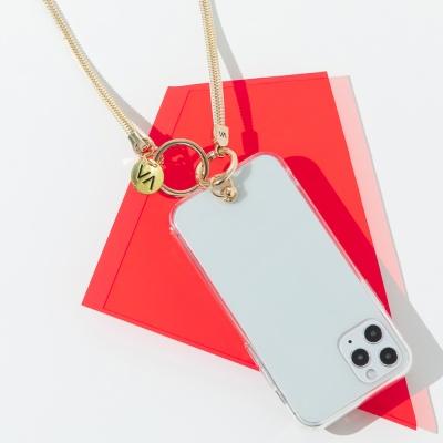반디 스트랩 폰 케이스 골드지퍼VS-Z01 아이폰 갤럭시