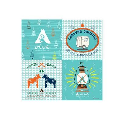 [올브] 스칸딕 캠핑 핸드 타올