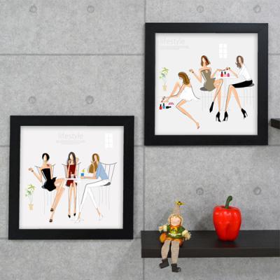 cy544-여자들의4가지뷰티스타일_인테리어액자