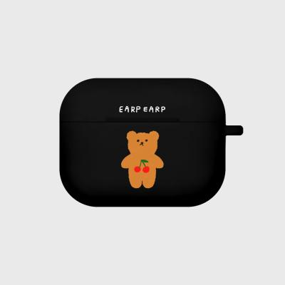 Cherry big bear-black(Air pods pro)