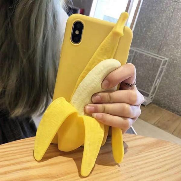 바나나 케이스(아이폰XS MAX)