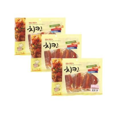 홈쿡(400g) 오도독닭갈비x3개 강아지간식