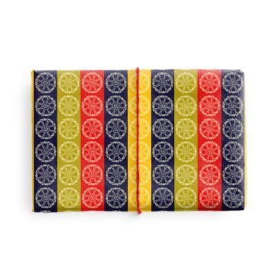 전통 문양 색동 포장지 (2장)