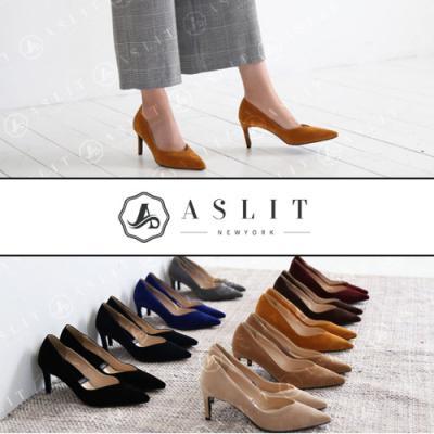 [애슬릿]여성 스웨이드 하이힐 7cm