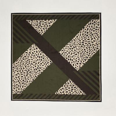 Leopard Division Square Scarf