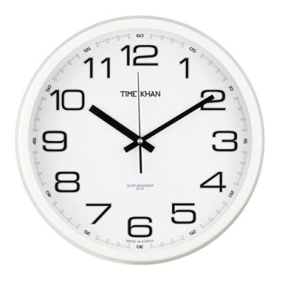 [타임칸] 심플벽시계 (화이트) 3500W-I [개/1] 379699