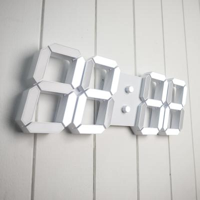 오리엔트 OT845W 3D 화이트 LED 대형디지털벽시계