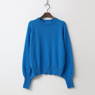 Wool Balloon Crop Sweater