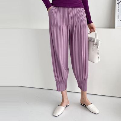 Pleats Aladdin Pants