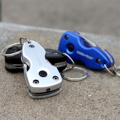 SWISS TECH Key Ring Muilti-Tool 스위스텍 7-in-1 키링 멀티툴