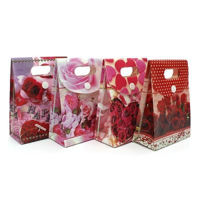 발렌타인데이 커플 기프트 선물쇼핑백1P(색상랜덤)