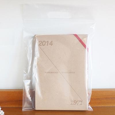 [대용량] 손잡이지퍼백 20x30 100개