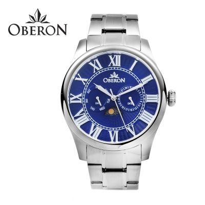 오베론 남성시계 OB-910 SVBL