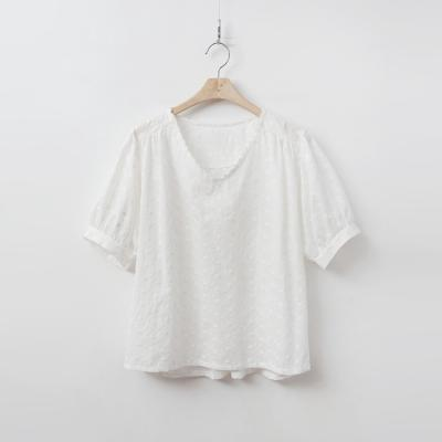 Perfore V-Neck Blouse