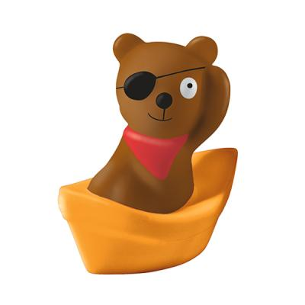 목욕 장난감_해적곰