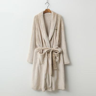 Soft Home Robe - 극세사,커플룩