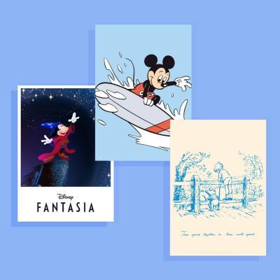 [라이브기념★51%세일] 디즈니 포스터 모음전