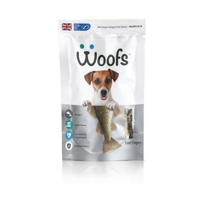 (영국산) Woofs 코드 핑거 (대구) 125g (in)