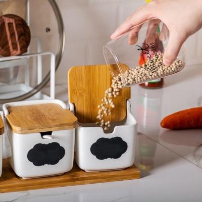 온나 도자기 조미료통 양념통세트