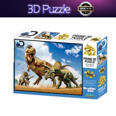 3D 입체퍼즐 티렉스 트리케라톱스 500피스 10329