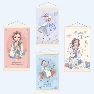 디즈니 미녀와야수 벨 DIY 그림그리기 행잉타입20x30