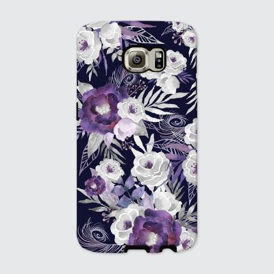 [듀얼케이스] PS Floral-B (갤럭시)