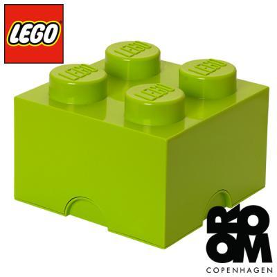 레고 블럭정리함4 라임그린 40031220
