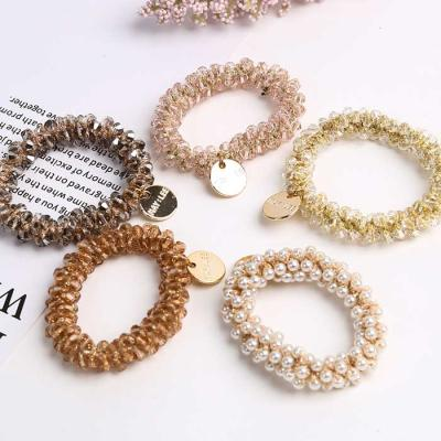 Mujer Daily CRYSTAL BEAD 머리끈 5color CH1647112