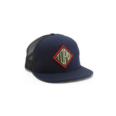 토포디자인 DIAMOND SNAPBACK HAT NAVY TBD