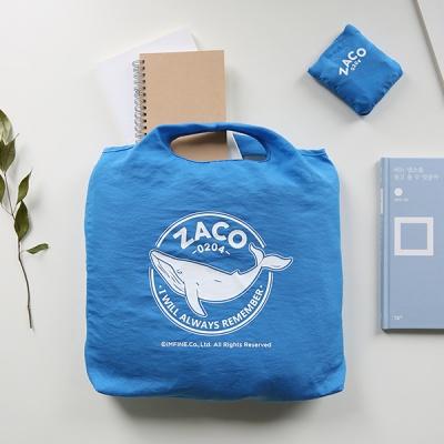 ZACO 0204  접이식 쇼퍼백(8컬러)