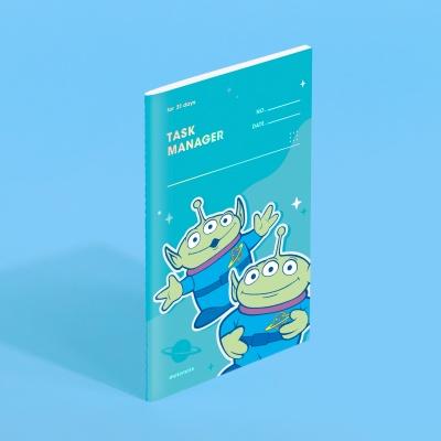 [디즈니] 모트모트 태스크 매니저 31DAYS - 알린