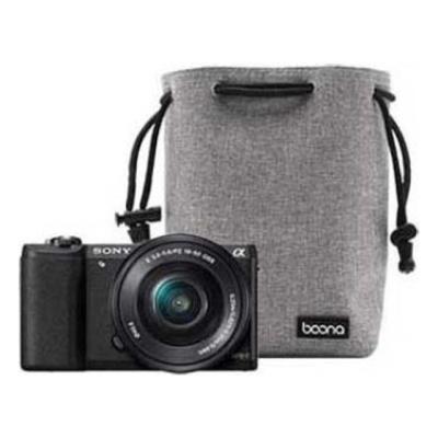 카메라렌즈 싱글 보호커버 카메라 파우치(S) 블랙