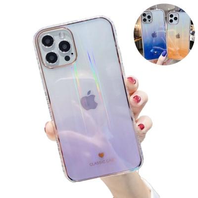 아이폰12 미니 11pro max 홀로그램 그라데이션 케이스