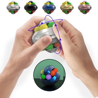 매직 볼 큐브 퍼즐 무광 메탈 핑거 스피너 피젯 토이