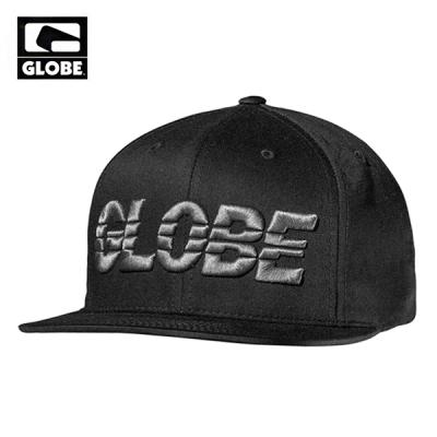 [GLOBE] ARMSTRONG SNAPBACK CAP (BLACK)