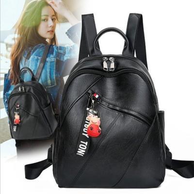 뮤직 여성 백팩 여행가방 학생가방 데일리백팩