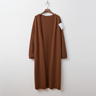Laine Cashmere N Wool Shawl Long Cardigan